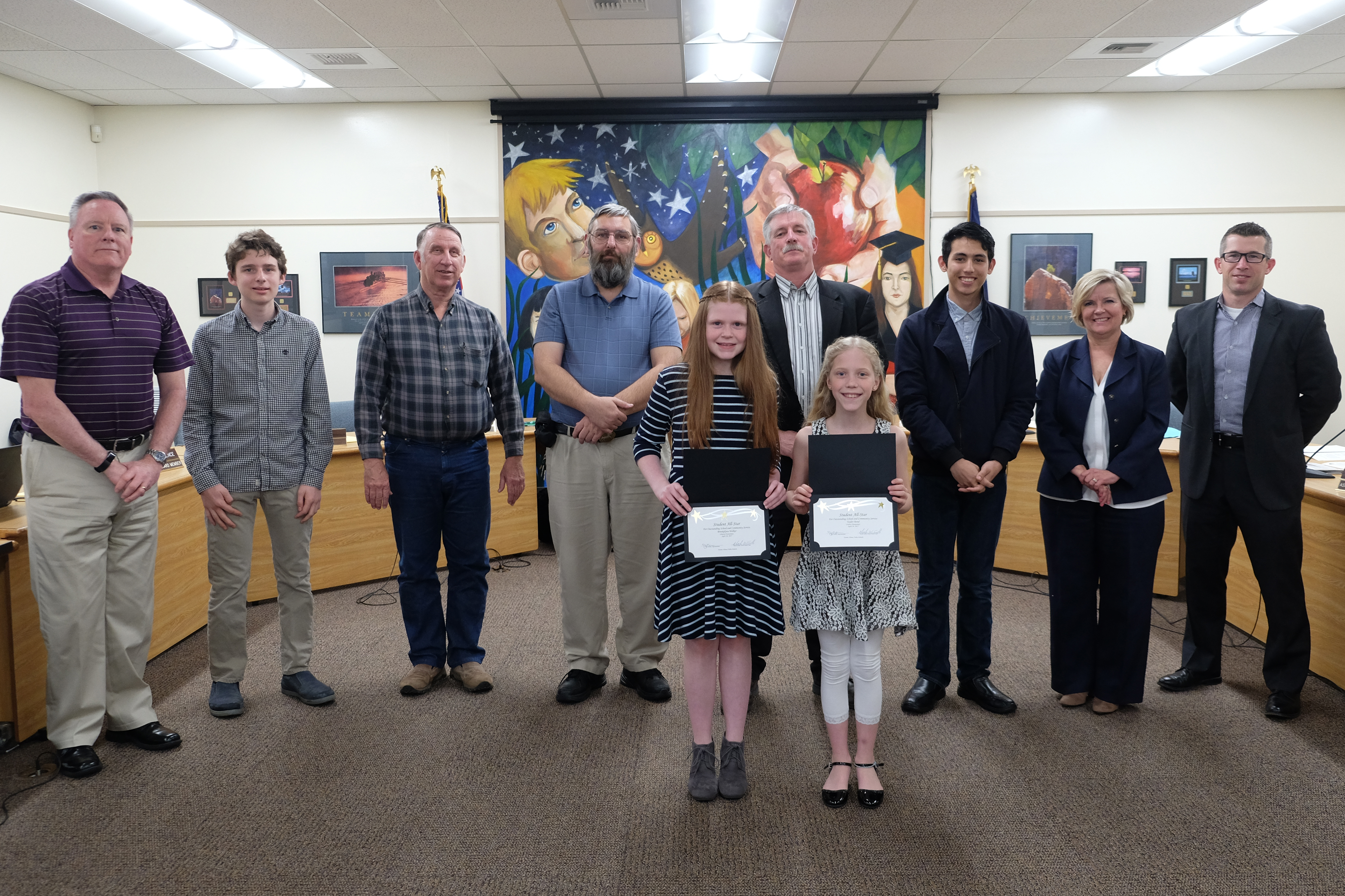 School Board honors Liberty Student All Stars