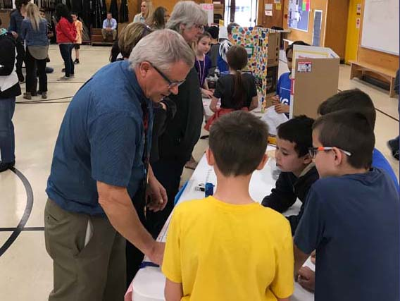 Oak Grove Elementary School annual science fair.