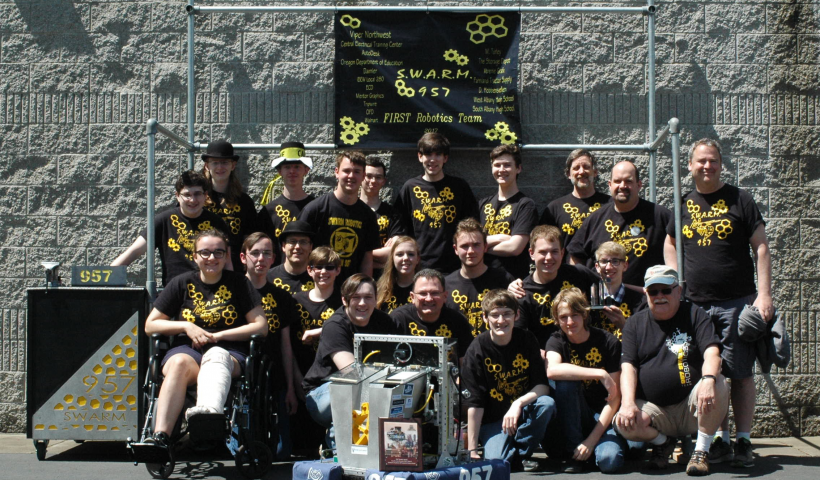 SWARM wins state grant to support robotics program