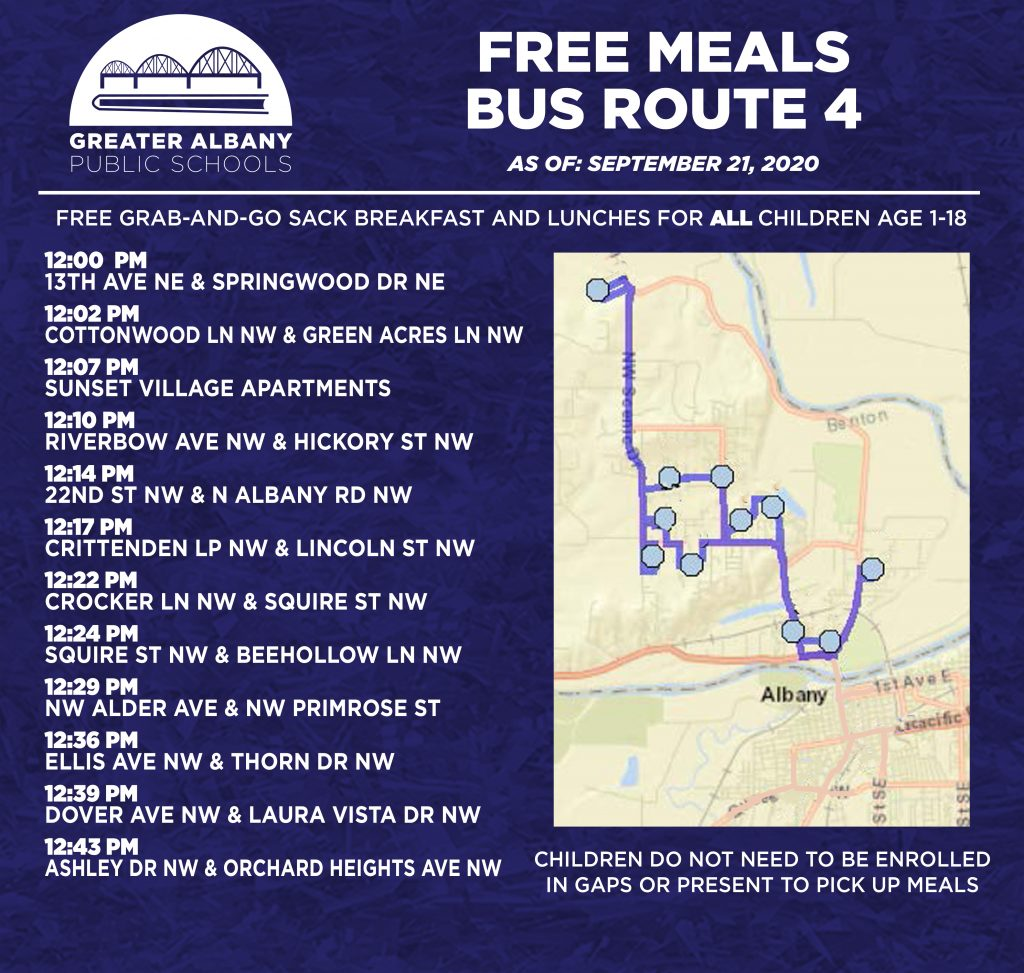 Free Meals Bus 4 Update 9-21